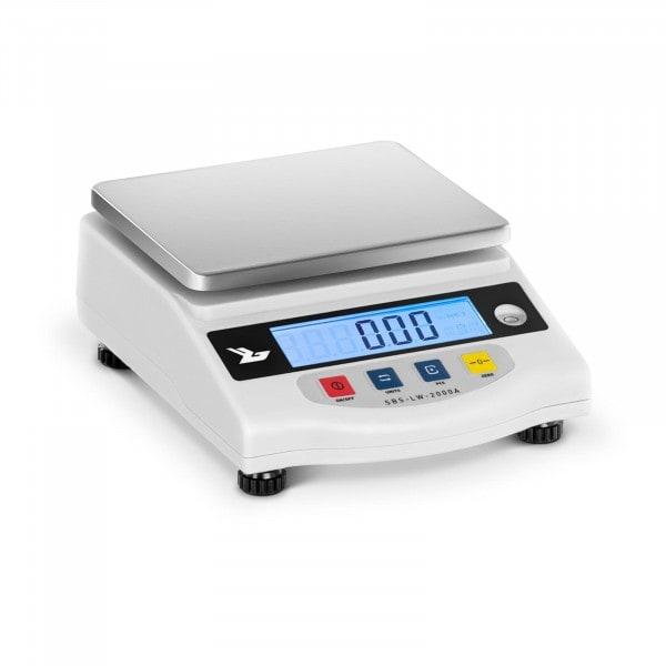 Præcisionsvægt - 2.000 g / 0,01 g