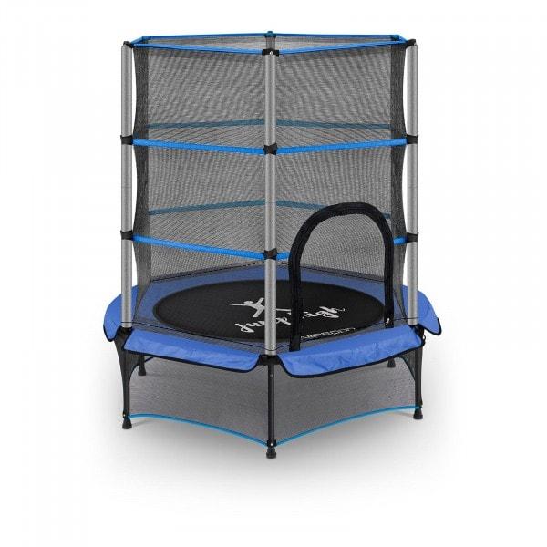Brugt Børnetrampolin - 140 cm - 50 kg - blå