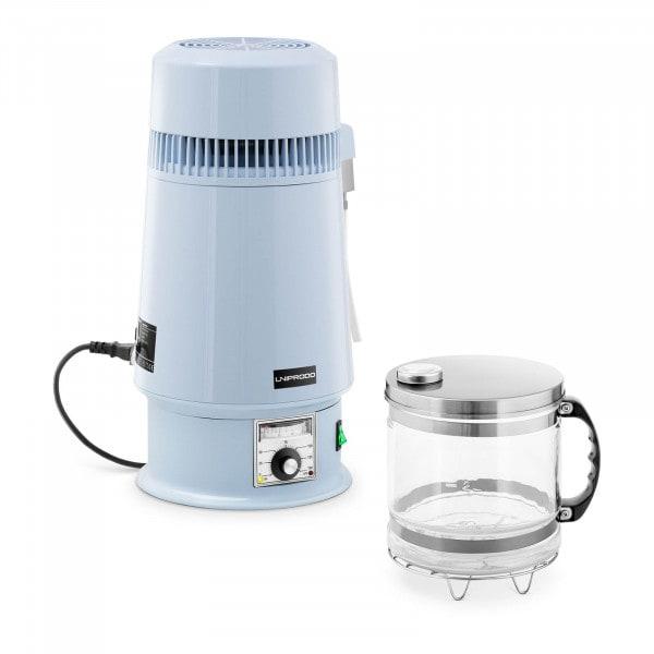 Brugt Vand-destillator - 4 l - temperaturregulering - glaskande