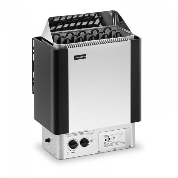 Brugt Saunaovn - 8 kW - 30 til 110 °C - inkl. kontrolpanel