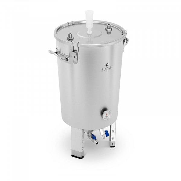 Brugt Gæringstank - 30 l - indbygget kølespiral