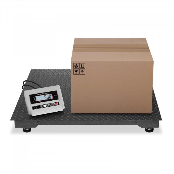Gulvvægt - 1.000 kg / 0,5 kg - LCD