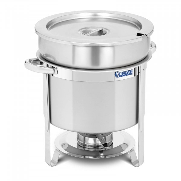 Brugt Chafing dish - rund - 10,5 l