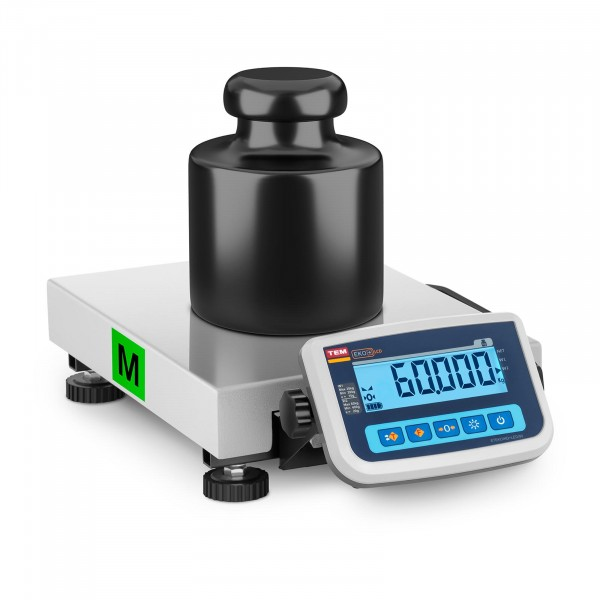 Brugt Pakkevægt - certificeret - 60 kg / 20 g