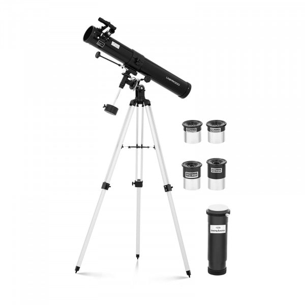 Brugt Teleskop - 76 mm - 900 mm - inkl. trefod