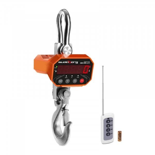 Kranvægt - 5 t / 1 kg - LED