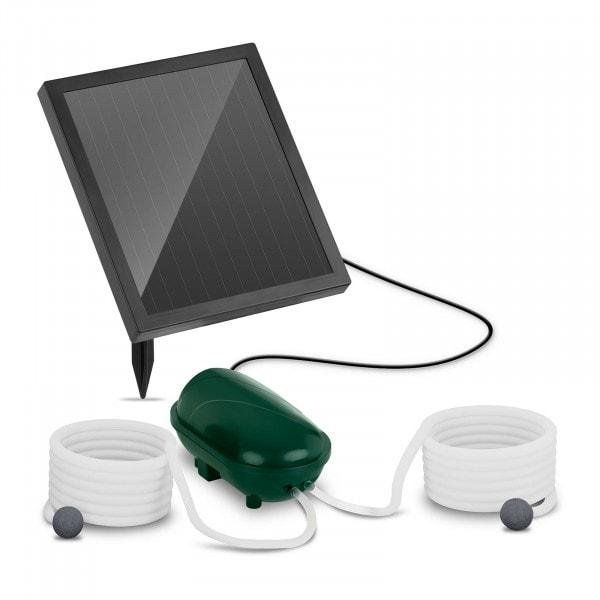 Brugt Solcelle-pumpe - 2 luftsten - 200 l/t - batteri