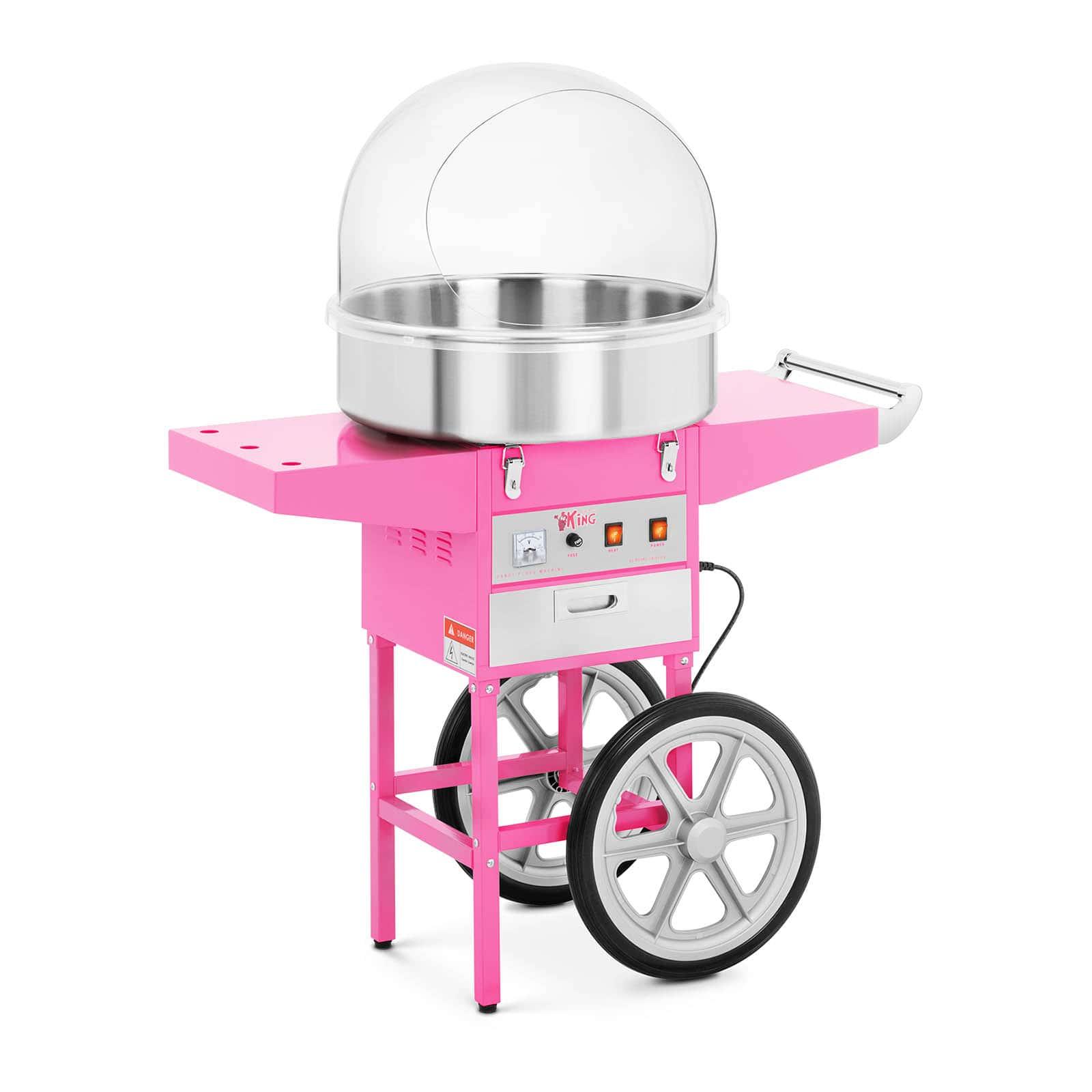 Candyfloss-maskiner og tilbehør