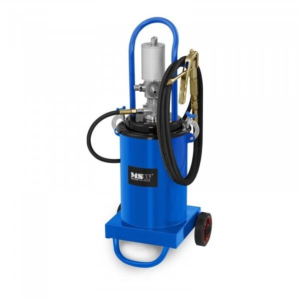 Brugt Fedtsprøjte pneumatisk - 12 liter - med hjul - 240-320 bar pumpetryk