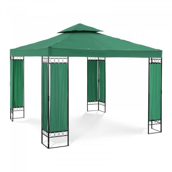 Brugt Telt-pavillon - 3 x 3 m - 160 g/m² - mørkegrøn