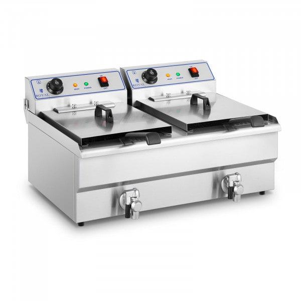 Frituregryde - 2 x 16 liter - 400 V