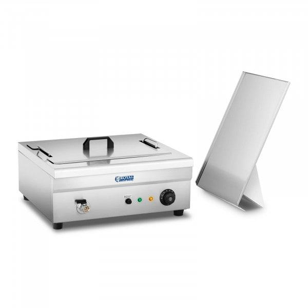 Brugt Frituregryde til bagværk - 18 liter - 3.200 W - kuldezone