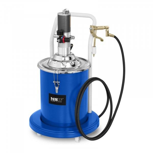 Brugt Fedtsprøjte pneumatisk - 20 liter - med hjul - 300-400 bar pumpetryk