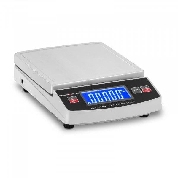 Brugt Digital bordvægt - 600 g / 0,1 g - 14,8 x 15,2 cm - LCD