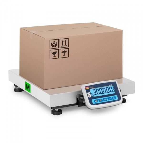 Brugt Pakkevægt - certificeret - 300 kg / 100 g - 60 x 50 cm