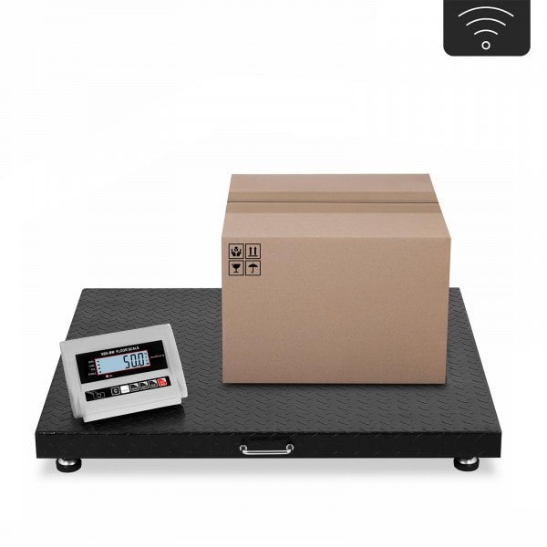 Gulvvægt - 3 t / 1 kg - trådløs