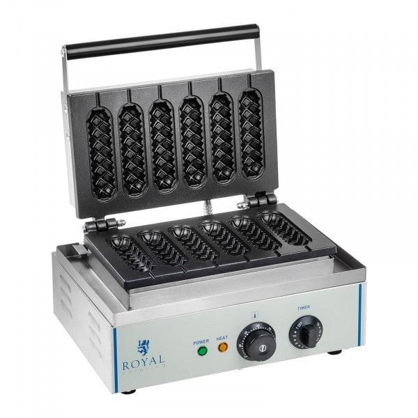 Vaffeljern - 1.550 watt - til vaffelpinde og corndogs