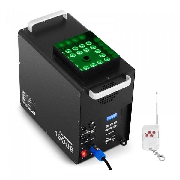 Brugt Røgmaskine - LED 24 x 3 W - 1.500 W - 509 m3/min. - timer