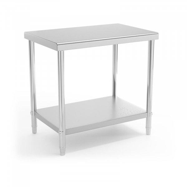 Brugt Stålbord - 90 x 60 cm - 210 kg bæreevne