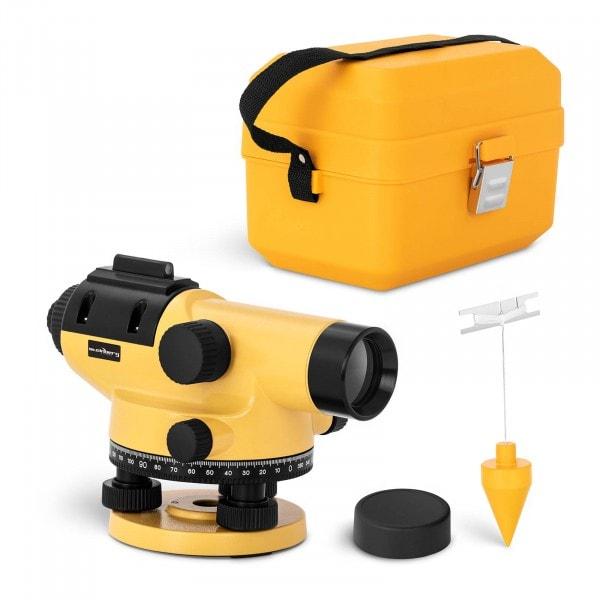 Brugt Nivelleringsapparat - 32 x forstørrelse - 38 mm objektiv - nøjagtighed 1 mm - magnetisk kompensator - aluminium