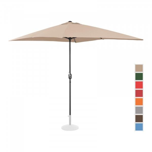 Brugt Parasol - flødefarvet - rektangulær - 200 x 300 cm