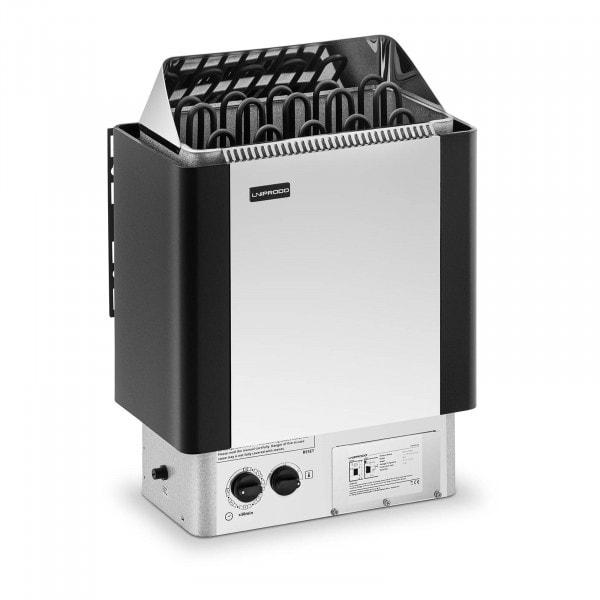 Brugt Saunaovn - 9 kW - 30 til 110 °C - inkl. kontrolpanel
