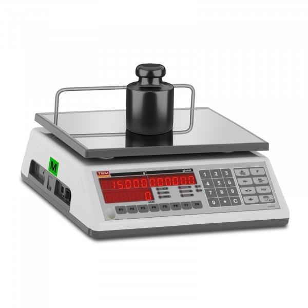 Brugt Tællevægt - 15 kg / 5 g