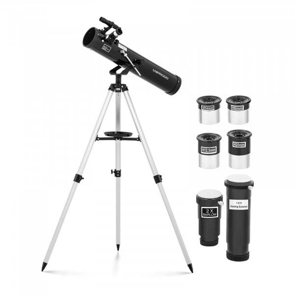 Brugt Teleskop - 76 mm - 700 mm - inkl. trefod