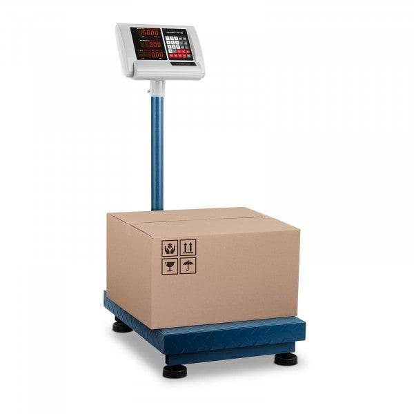 Brugt Industrivægt - 150 kg / 10 g - 40 x 50 cm - sammenklappeligt display