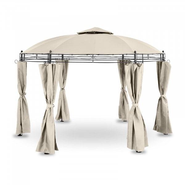 Brugt Rund pavillon - 3,5 m - 180 g/m² - beige