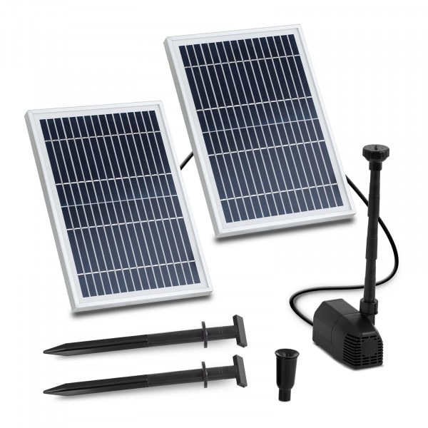Brugt Solcelle-springvand - 1.350 l/t