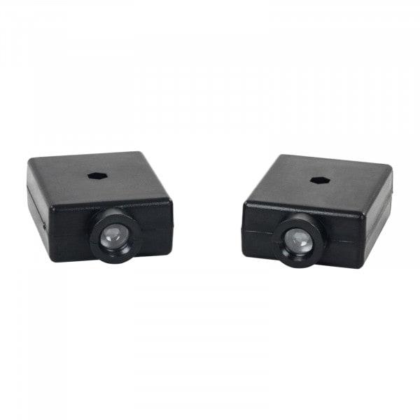 Frontalansicht von Infrarot Sensor für Garagentor