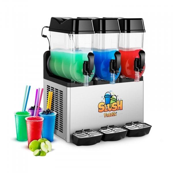 Brugt Slush ice-maskine - 3 x 12 liter - LED