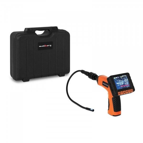 """Brugt Inspektionskamera - 3,5"""" LCD - 360° - SD-port - 10 mm i diameter - IP67"""
