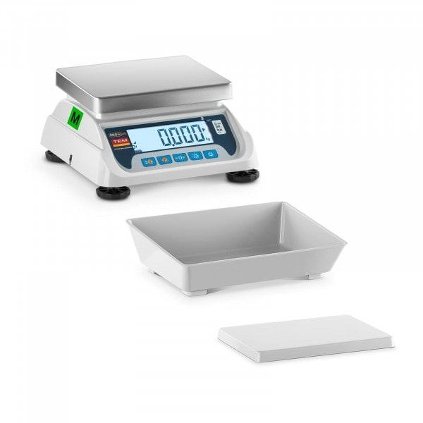 Brugt Bordvægt - certificeret - 3 kg / 1 g - LCD
