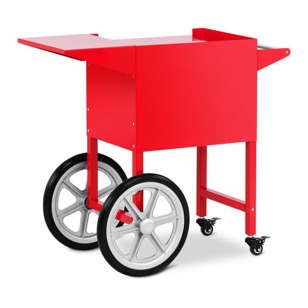 Vogn til popcornmaskine - rød