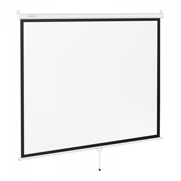 Brugt Lærred til projektor - 211 x 161 cm - 4:3