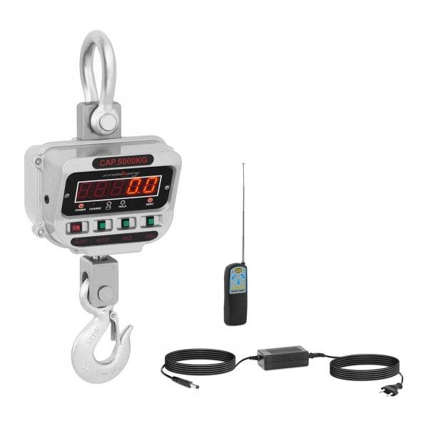 Kranvægt - 5 t / 1 kg- LED