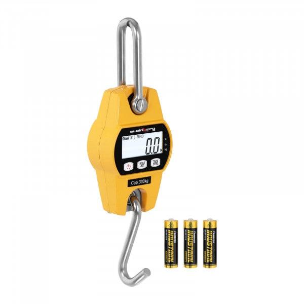Brugt Kranvægt - 300 kg / 100 g - LCD - gul