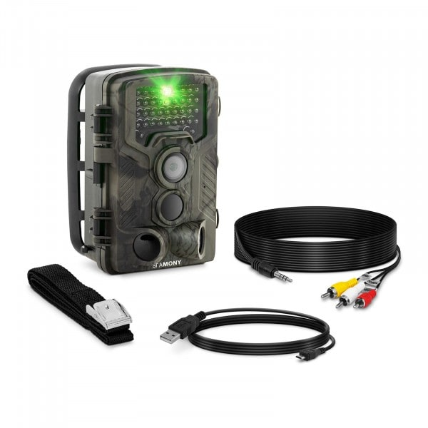 Brugt Vildtkamera - 8 MP - fuld HD - 42 IR-LED - 20 m - 0,3 sek.