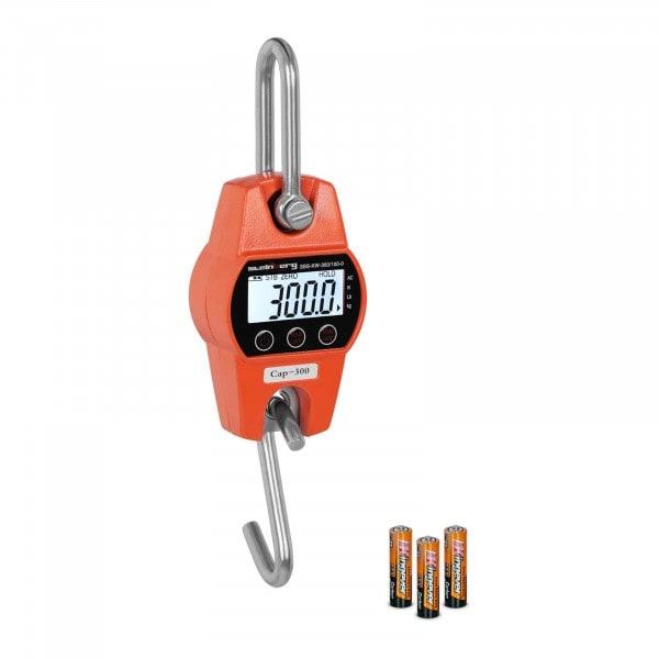 Kranvægt - 300 kg / 100 g - orange