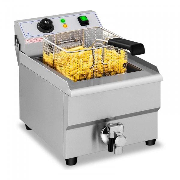 Frituregryde - 16 liter - afløbshane - 230 V