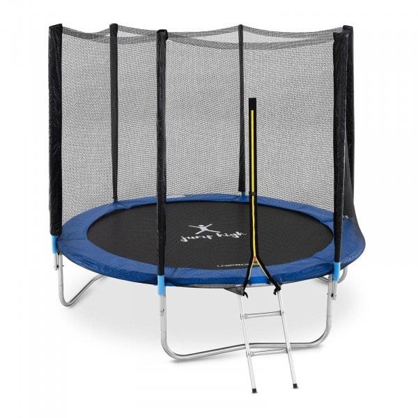 Brugt Trampolin med net - 240 cm i diameter