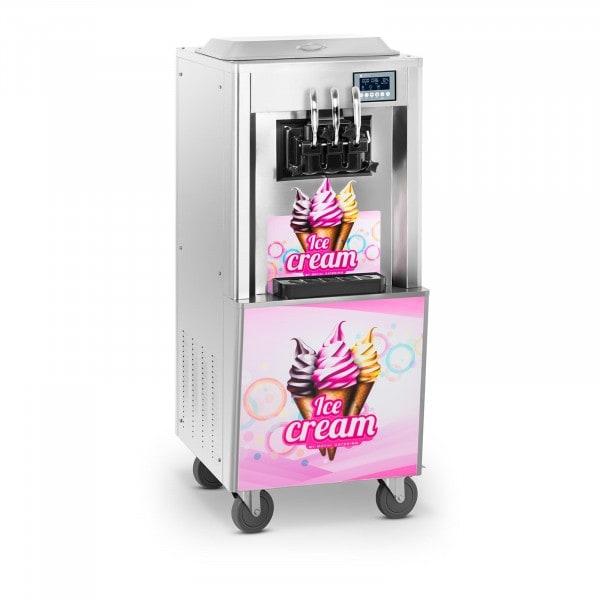 Brugt Softicemaskine - 2.100 W - 2 x 8,5 l - 23 l/t