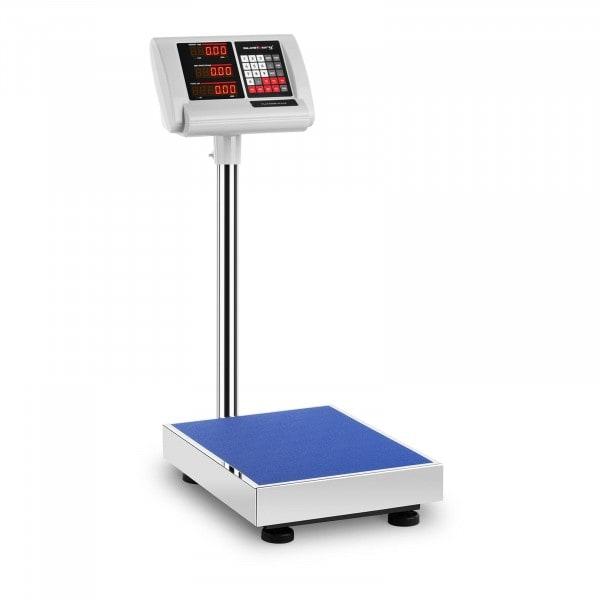 Brugt Industrivægt - 100 kg / 10 g - 40 x 30 cm