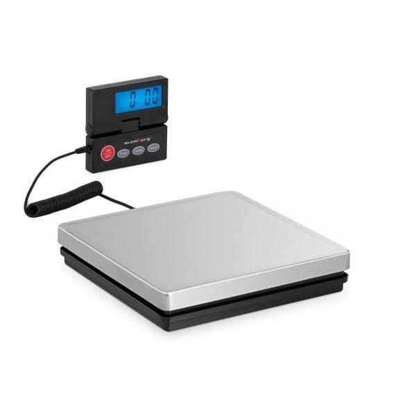 Brugt Pakkevægt - 50 kg / 10 g - 25 x 25 cm - eksternt LCD