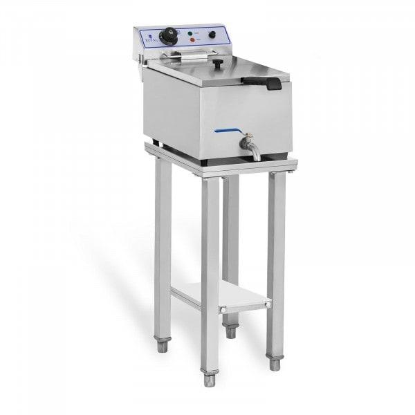 Elektro-friture-koger - 1 x 17 liter - med understel