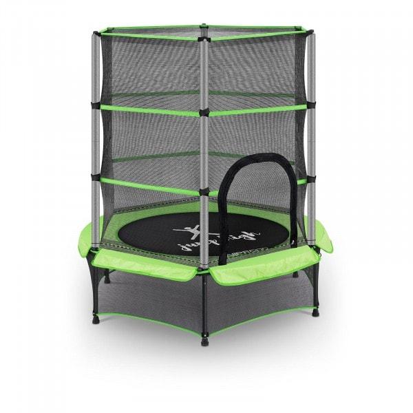 Brugt Børnetrampolin - 140 cm - 50 kg - grøn