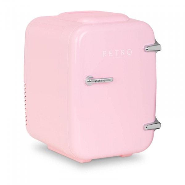 Brugt Mini-køleskab - 4 l - lyserødt