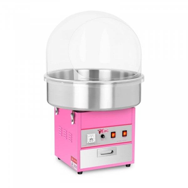 Candyfloss-maskine - 52 cm - m. beskyttelseskuppel